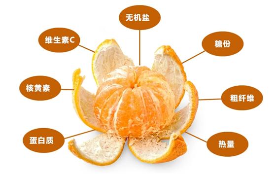 椪柑的营业价值,雷家坪椪柑富硒水果